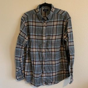 Croft & Barrow Flannel Plaid Shirt Size M
